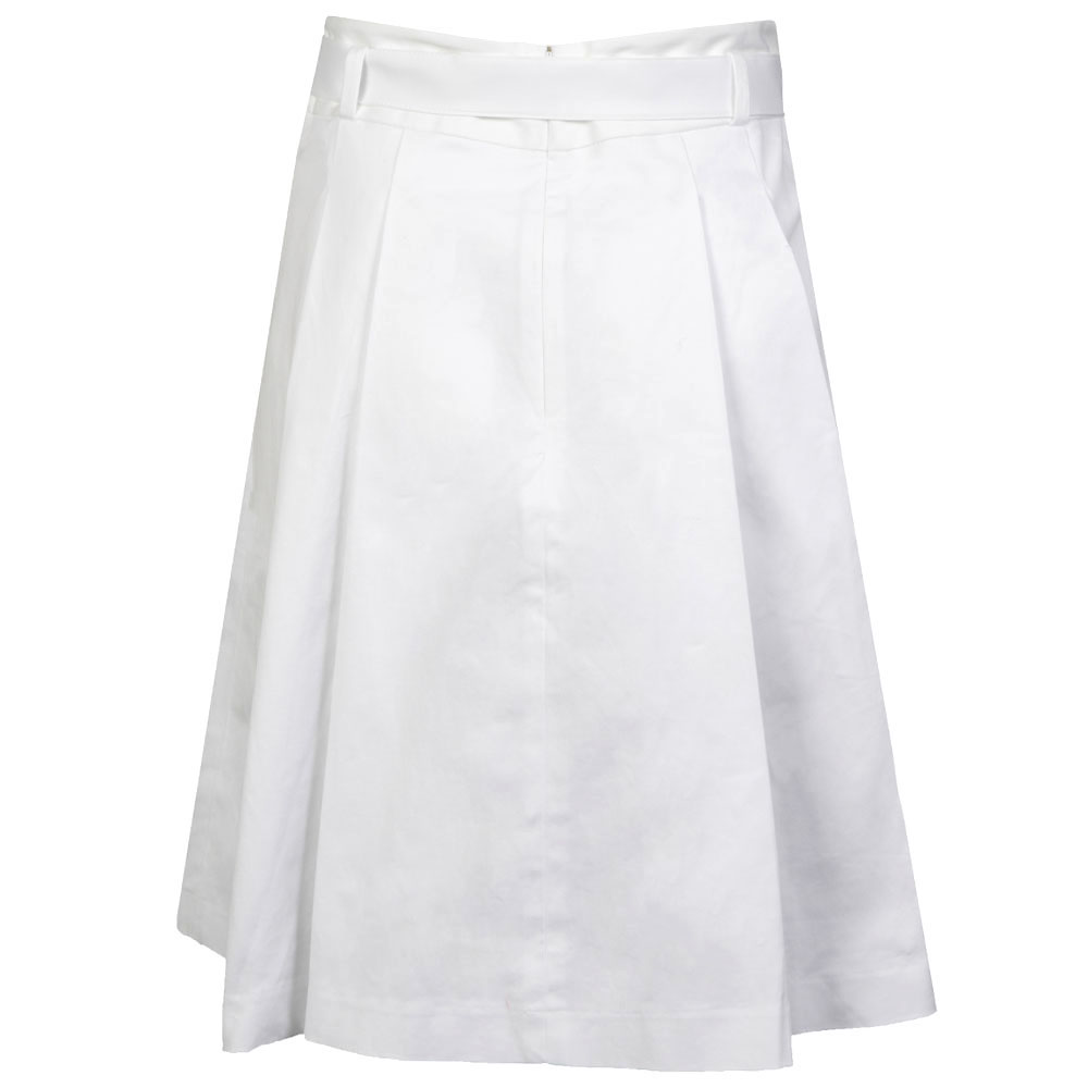 Belted Pleated Skirt main image