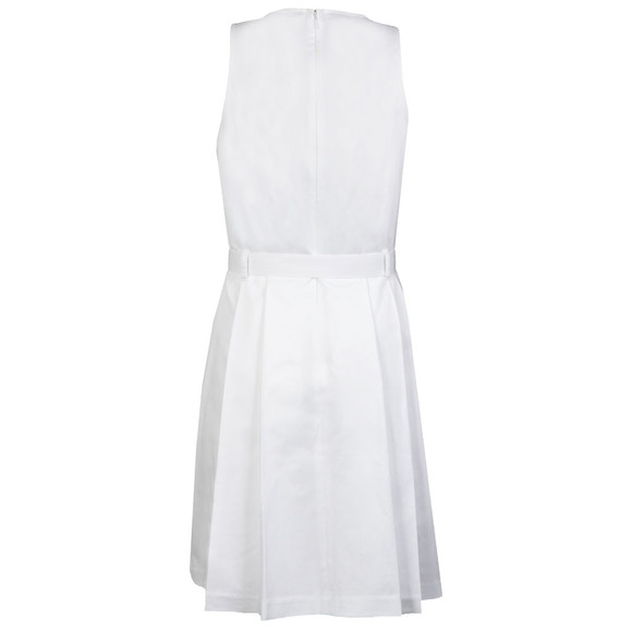 Michael Kors Womens White Belted Dress main image