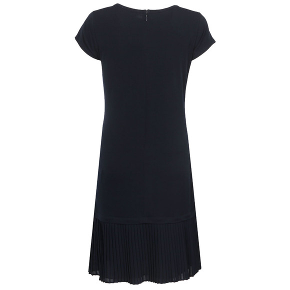 Michael Kors Womens Blue Pleat Hem Dress main image