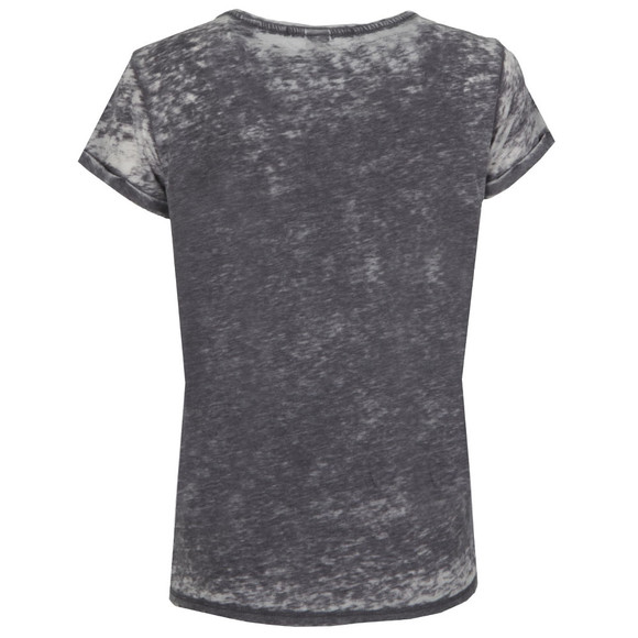 Maison Scotch Womens Black Beach Burn Out T Shirt main image