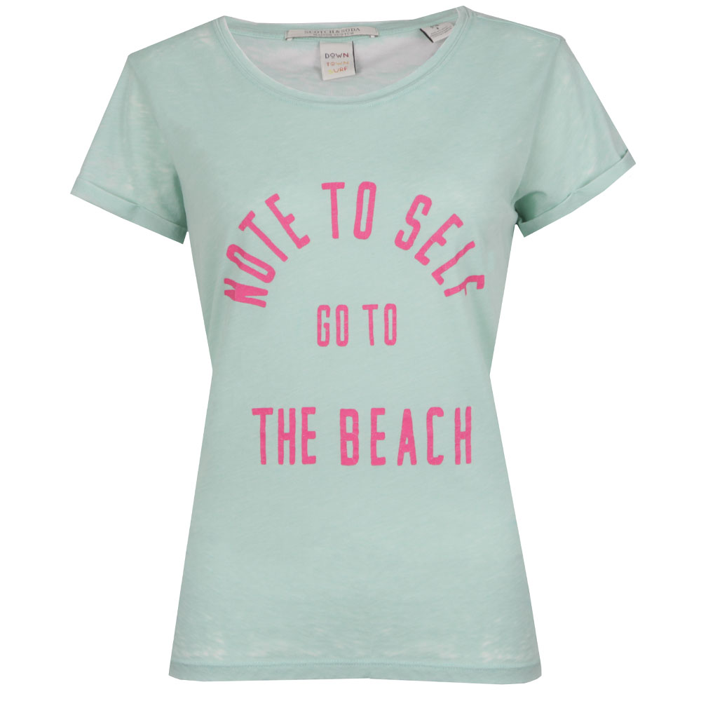 Beach Burn Out T Shirt main image