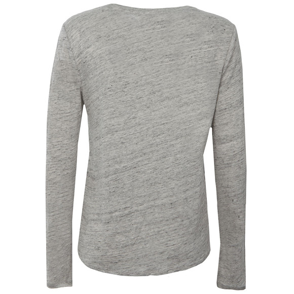 Maison Scotch Womens Grey Long Sleeve Printed Top main image