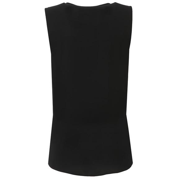 Michael Kors Womens Black Double Layer Tank main image