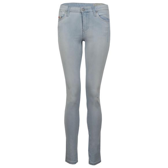 Diesel Womens Blue Skinzee Jean main image