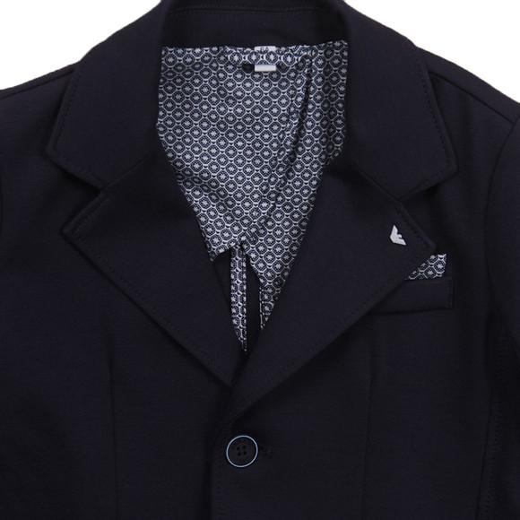 Armani Junior  Boys Blue C4N01 Jersey Blazer main image
