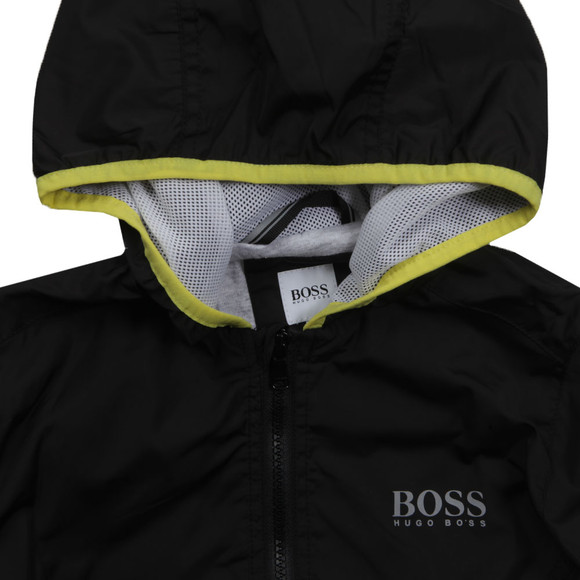 Boss Boys Black Boys J26272 Hooded Jacket main image