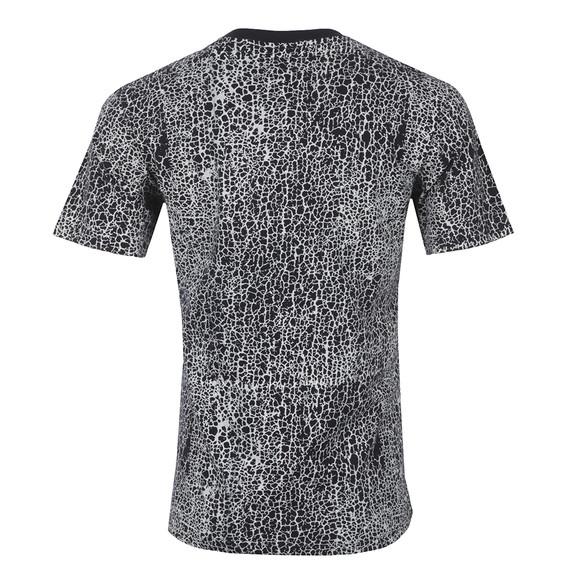 Nicce Mens Blue Cracked T Shirt main image