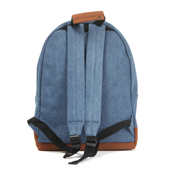 Mi Pac Unisex Blue Denim Pocket Backpack main image