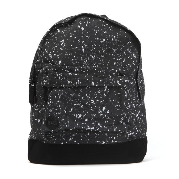 Mi Pac Unisex Black Splattered Backpack main image
