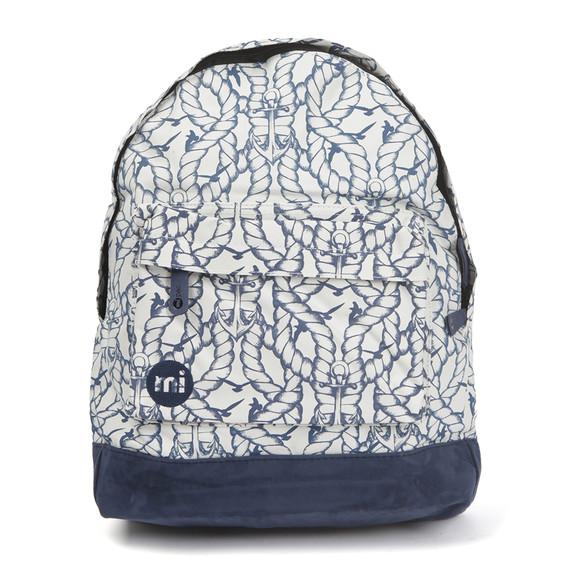 Mi Pac Unisex Beige Mono Maritime Backpack main image
