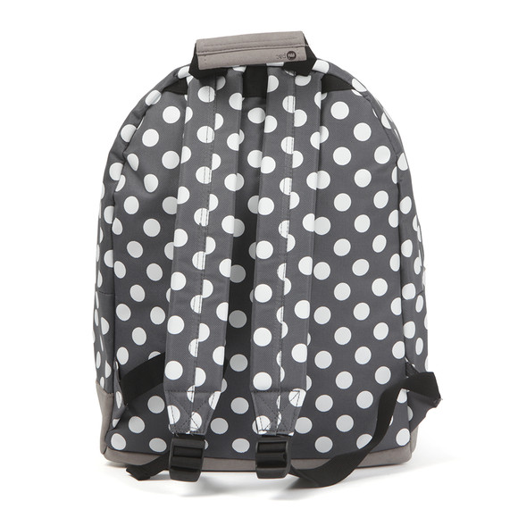 Mi Pac Unisex Grey All Over Polkadot Backpack main image