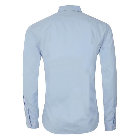 Crew Mens Blue Sandbanks L/S Plain Shirt main image