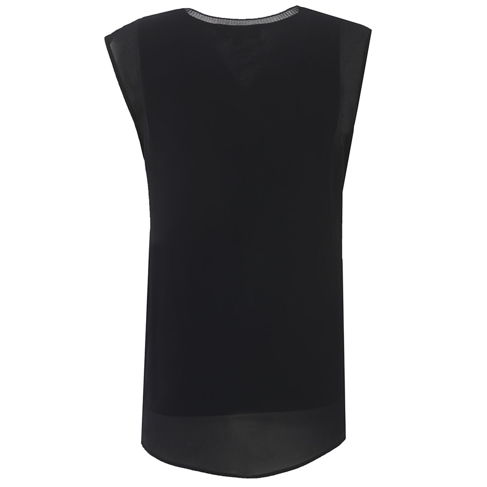Sleeveless V-Neck Top main image