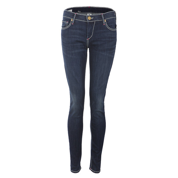 True Religion Womens Blue Casey Super Skinny T Jeans main image