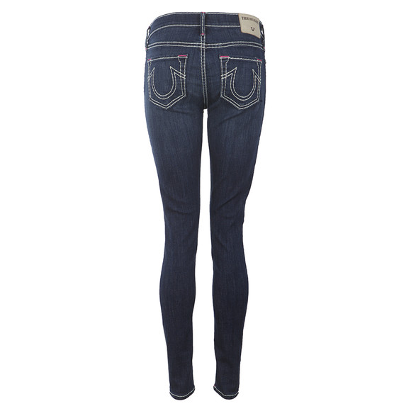 True Religion Womens Blue Casey Super Skinny T Jeans main image