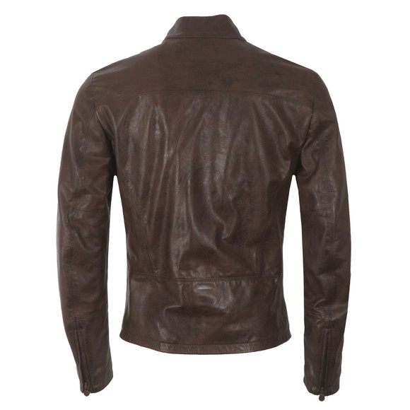 Matchless Mens Brown Han Solo Leather Jacket main image