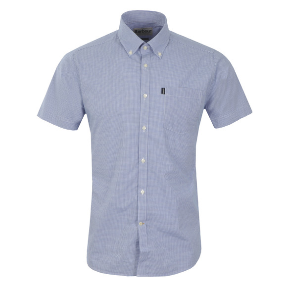 Barbour Lifestyle Mens Blue S/S Triston Shirt main image