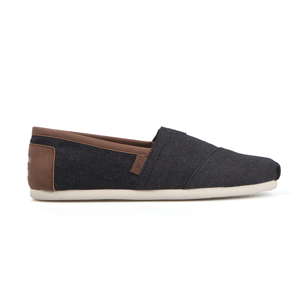 Synthetic Leather Trim Espadrille main image