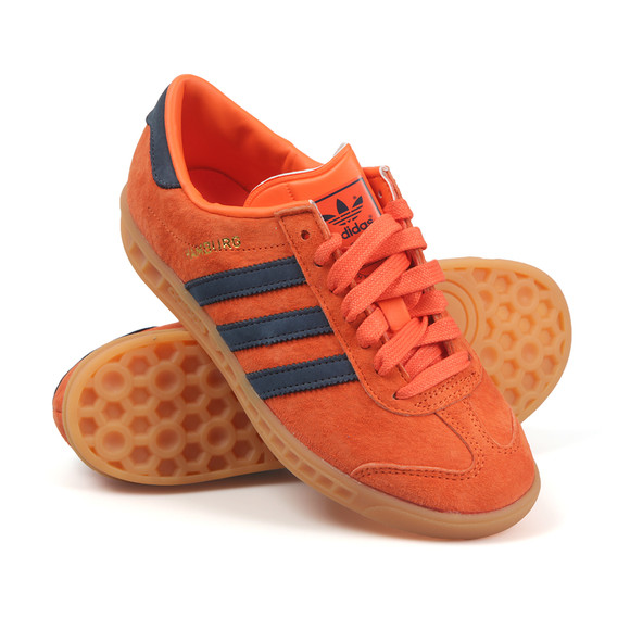 Adidas Originals Womens Orange Hamburg Trainer main image