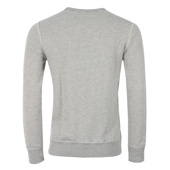 True Religion Mens Grey Crew Sweat TR Denim main image
