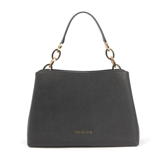 Michael Kors Womens Black Portia Shoulder Bag main image