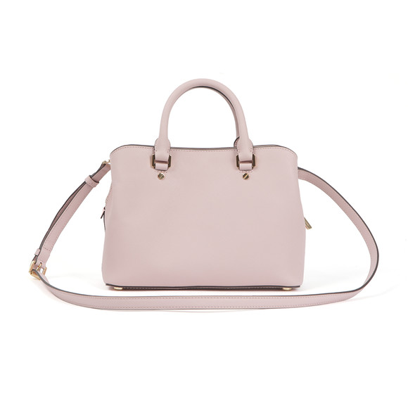 Michael Kors Womens Pink Savannah Mid Satchel main image