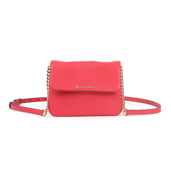 Michael Kors Womens Pink Bedford Flap Crossbody Bag main image
