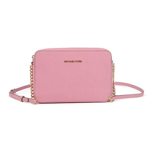 Michael Kors Womens Pink Jet Set Travel Shoulder Bag main image