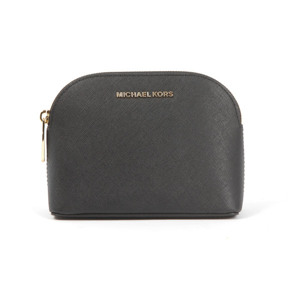 Michael Kors Womens Black Cindy Travel Pouch main image