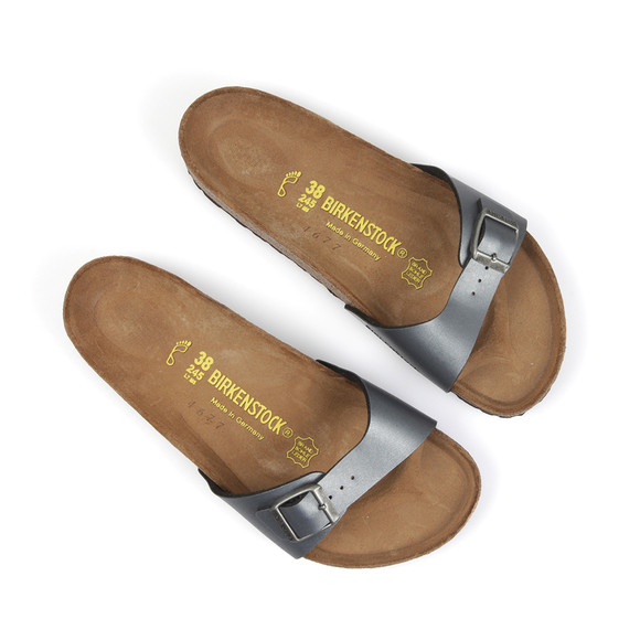 Birkenstock Womens Grey Madrid Sandal main image