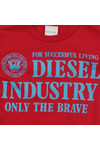 Diesel Boys Red Boys Torry Slim T-Shirt