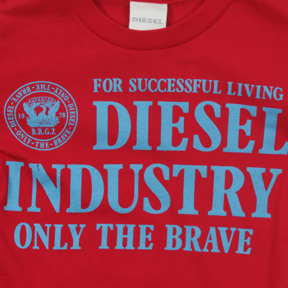 Diesel Boys Red Boys Torry Slim T-Shirt main image