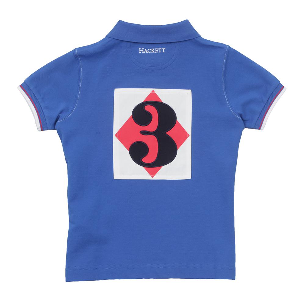 Boys Number Union Jack Polo Shirt main image