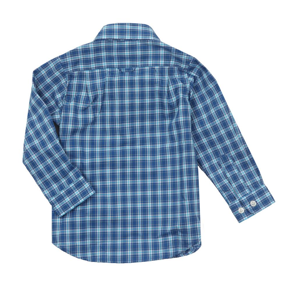 Baby Dogleg Poplin Check Shirt main image