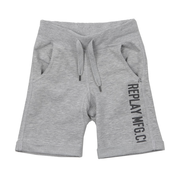 Replay Boys Grey SB9536 Sweat Shorts main image