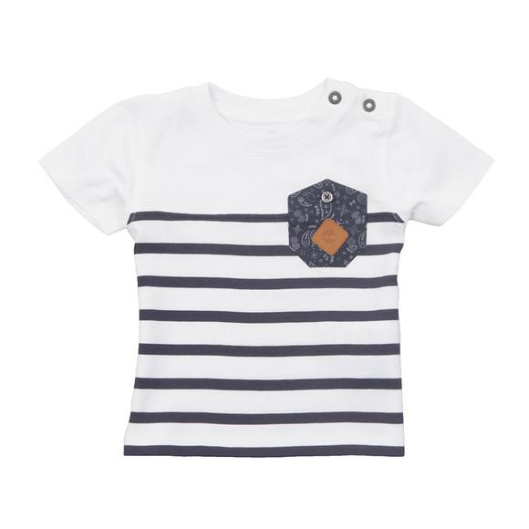 Timberland Boys White Baby T05F68 T Shirt main image