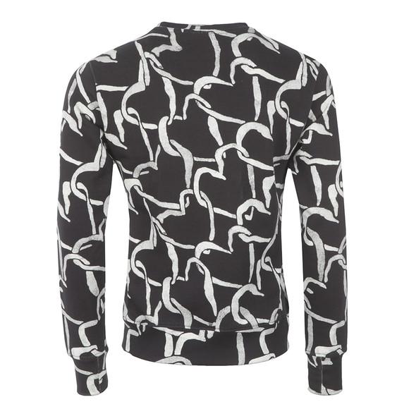 Paul Smith Mens Black Linked Heart Sweatshirt main image
