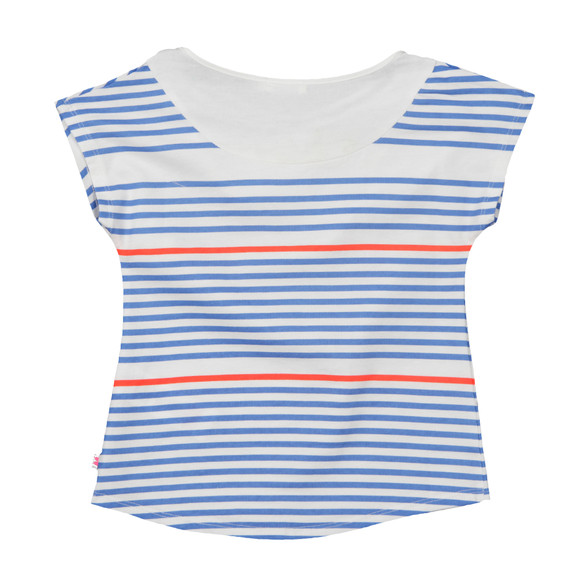 Billieblush Girls Blue Girls U15309 Stripe T Shirt main image