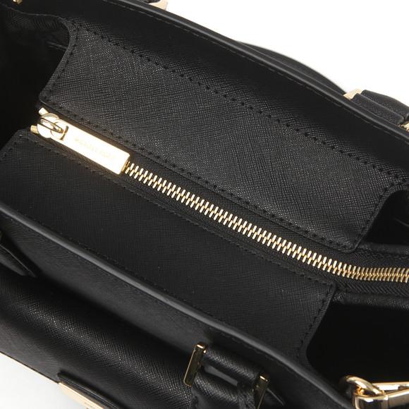 Michael Kors Womens Black Bridgette Mid EW Tote Bag main image