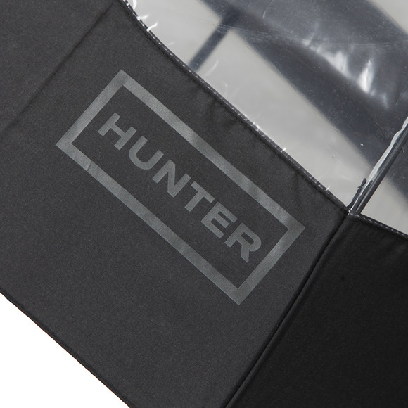 Hunter Unisex Black Original Moustache Bubble Umbrella main image