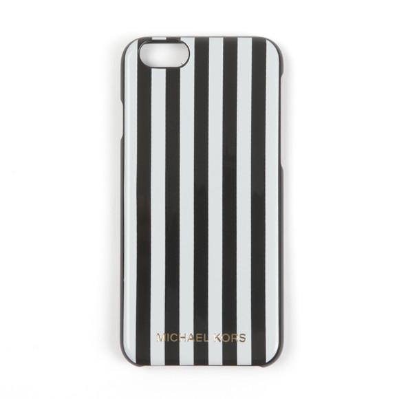 Michael Kors Womens Black Stripe Iphone 6 Cover main image