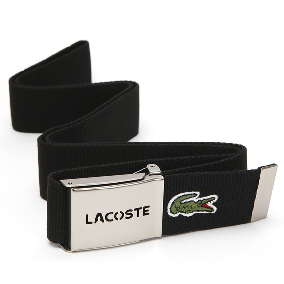 Lacoste Mens Black Fabric Belt RC0012 main image