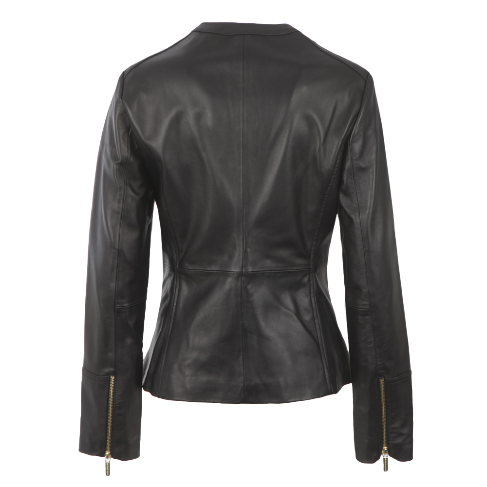 Waisted Leather Jacket main image
