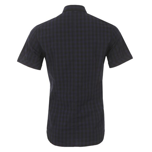 G-Star Mens Blue Landoh Short Sleeve Shirt main image