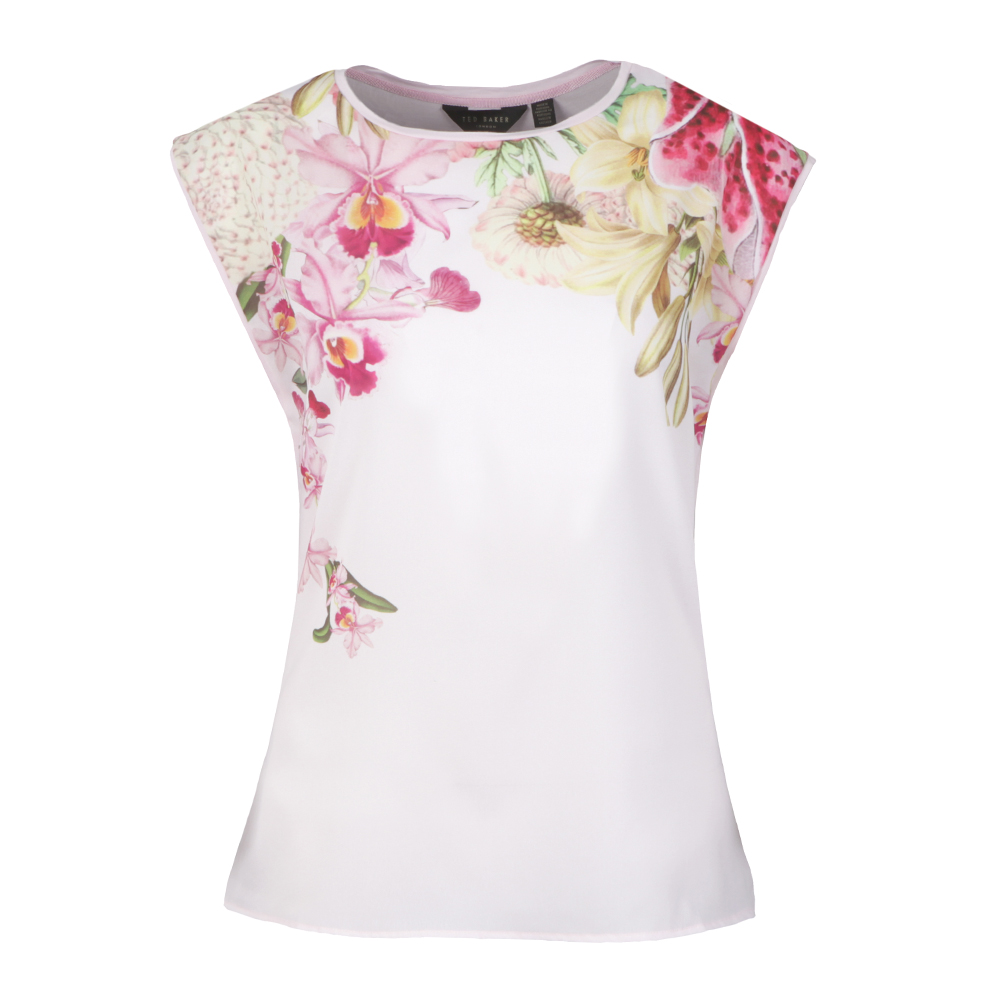 Catlee Encyclopedia Floral Woven T-Shirt main image