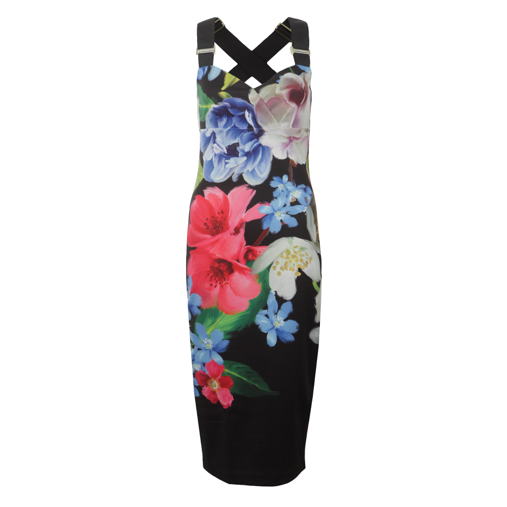 Alexie Forget Me Not Floral Strap Dress main image