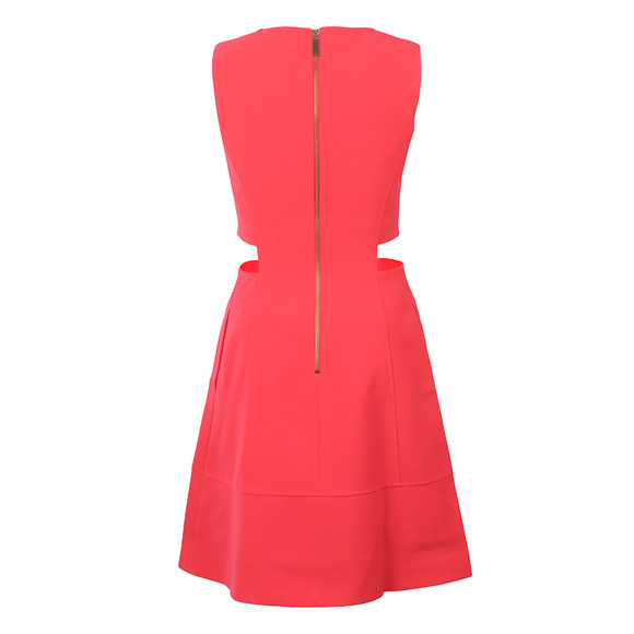 Ted Baker Womens Orange Panashe Cut Out Detail Tunic Dress main image