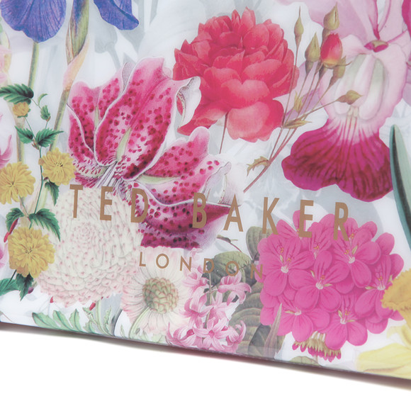 Ted Baker Womens Off-white Encon Encyclopedia Large Icon Bag main image