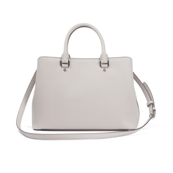 Michael Kors Womens Grey Savannah Large Satchel main image