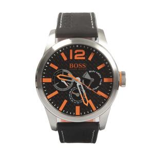 Paris Leather Strap Watch